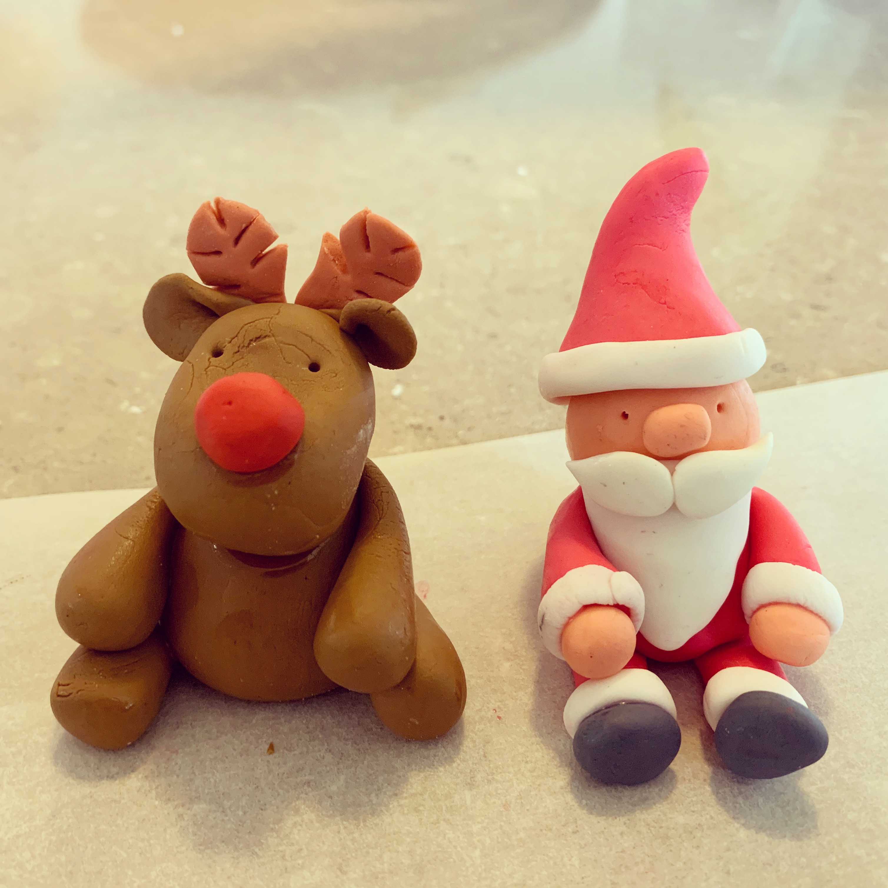 Christmas Cake Toppers Workshop